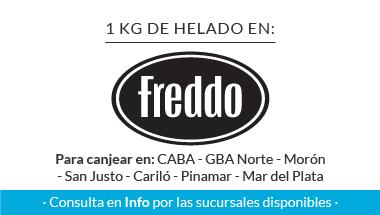 1 KG en Freddo