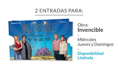 2 Entradas Invencible